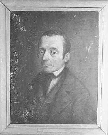 Portret van Johannes Hubertus Cuypers