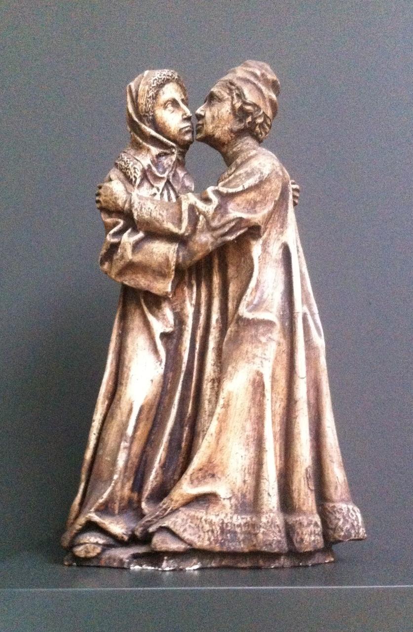 Ontmoeting Anna en Joachim bij de Gouden Poort