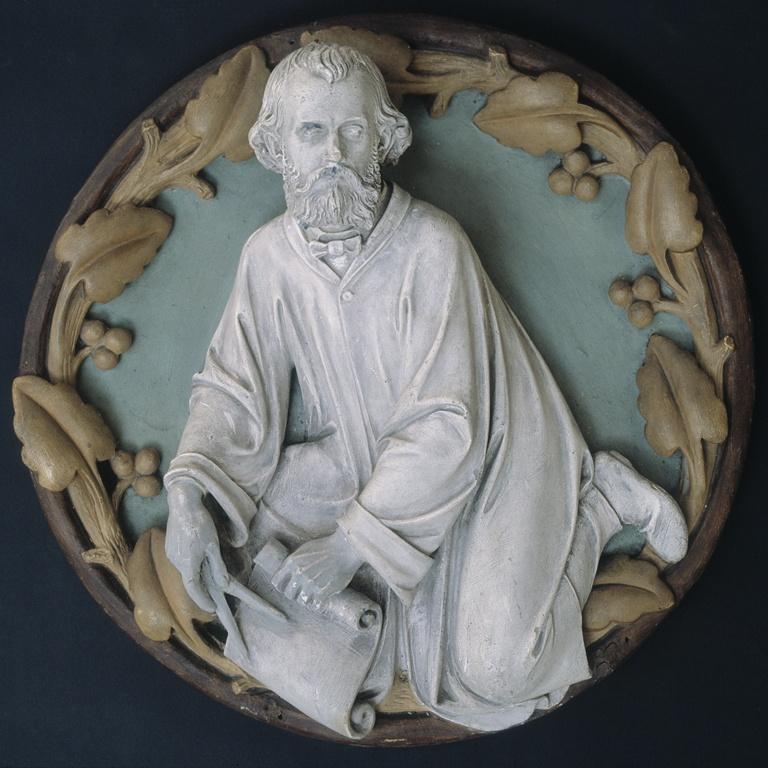 Portret van de architect Pierre Joseph Hubert Cuypers