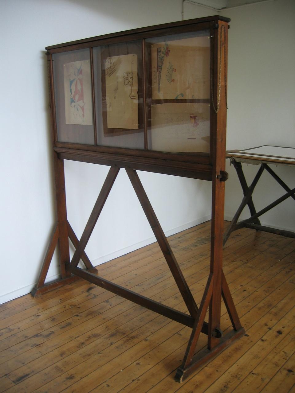 Tweezijdig expositierek