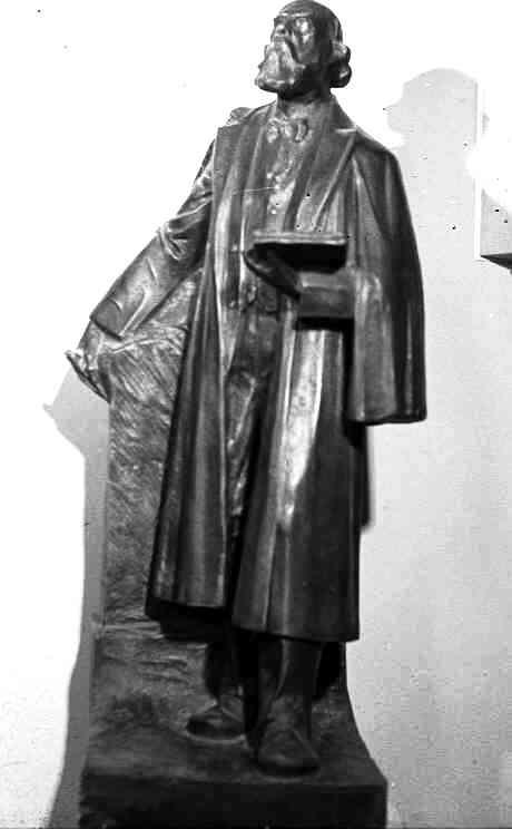 Model standbeeld Dr. P.J.H. Cuypers