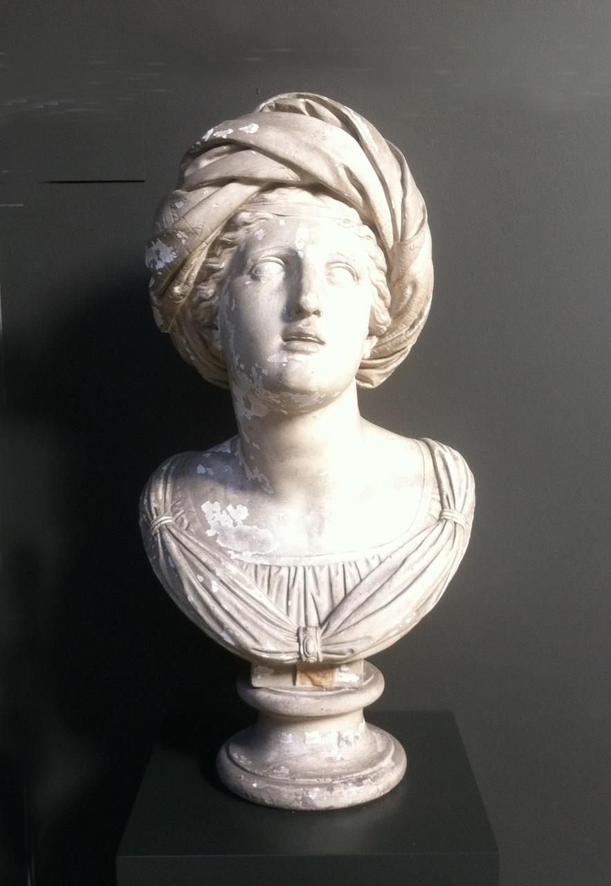 Bustebeeld van H. Cecilia