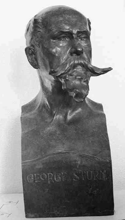 Borstbeeld van George Sturm