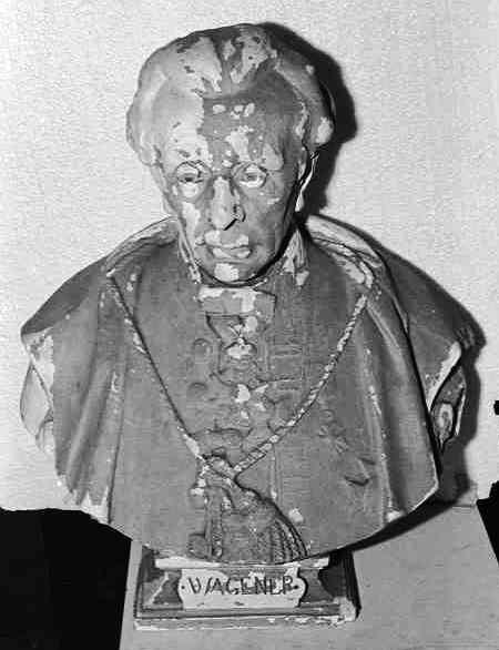 Borstbeeld van Wagner