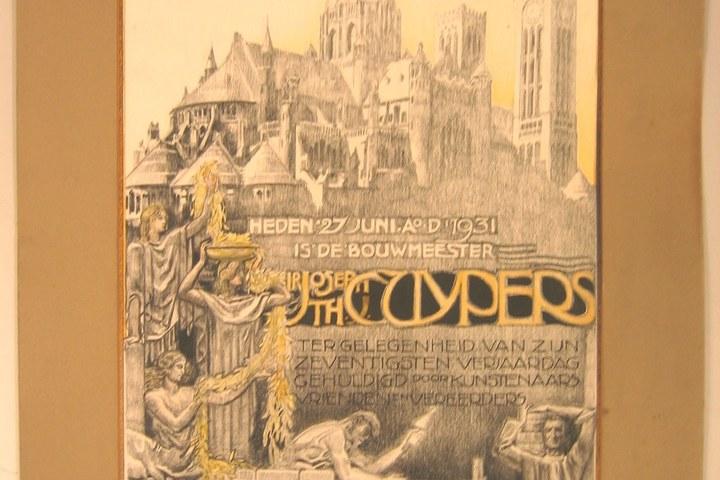 Huldeblijk aan Ir. Jos Th. Cuypers