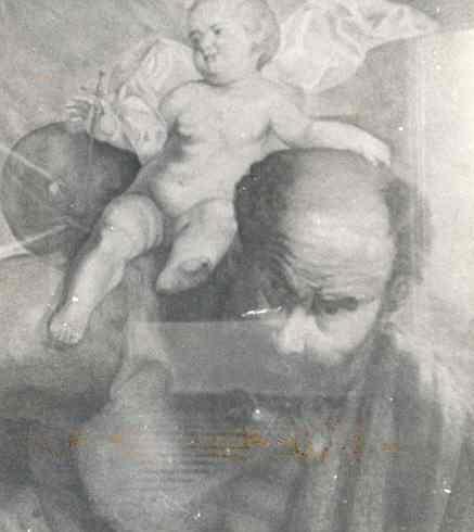 St. Christoffel met kind