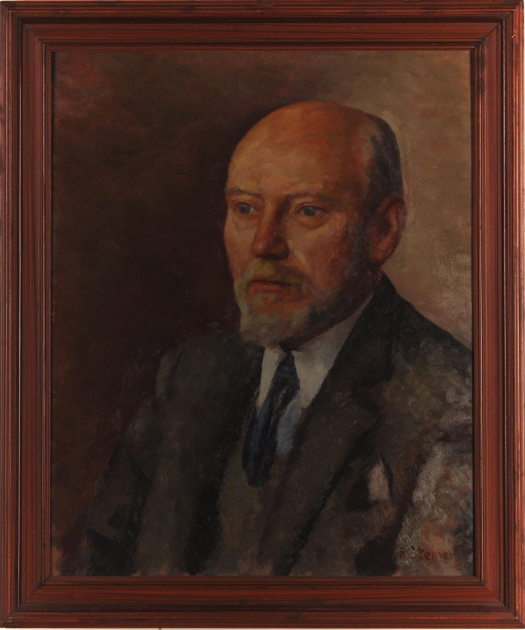 Portret van de heer Henri Geene