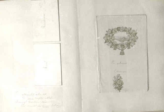 Gedenkboek b.g.v. huwelijk van J. Janssen en A. Wijdeveld