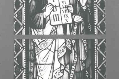 De tien geboden / Mozes met de stenen Wetstafelen