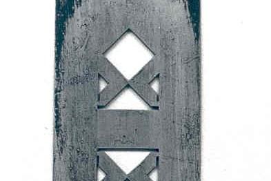 Sjabloon ten behoeve van schilderwerk Houtloods Pieter Cuypersstraat 3