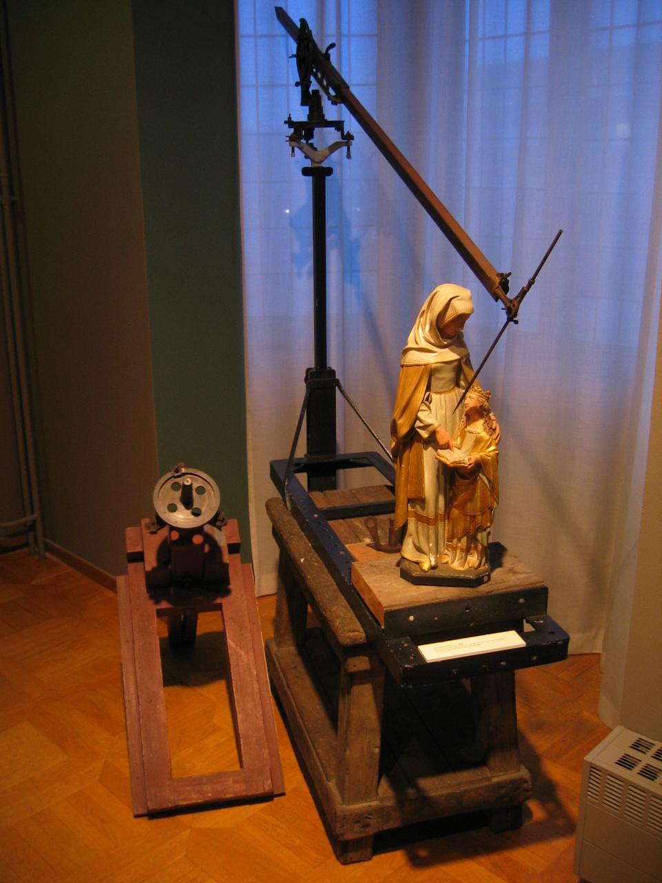 Punteerapparaat, gebruikt in Cuypers' kunstwerkplaatsen