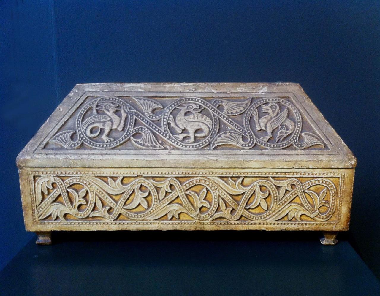 Reliekhouder in byzantijnse stijl.