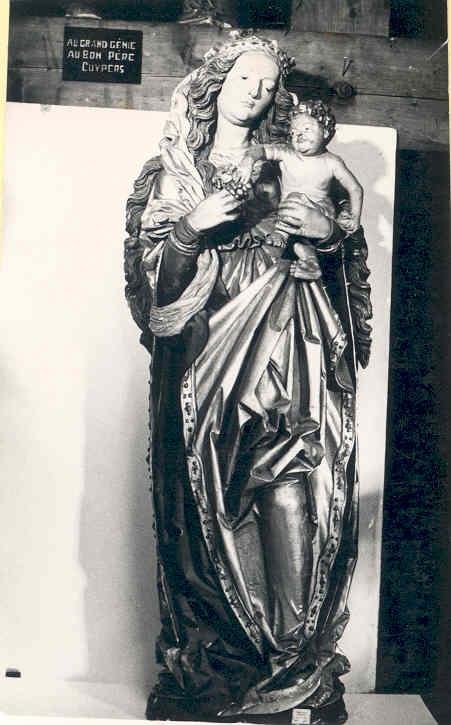 Beeld Maria met kind