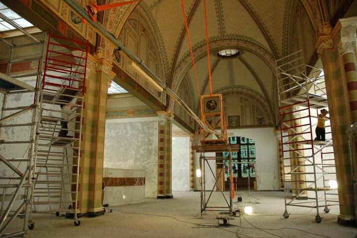 Lezing SRAL en de reconstructie van het Cuypersplafond